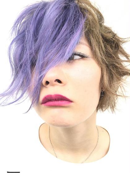 HAIR & MAKE EARTH所属・ウチダケイスケのスタイル