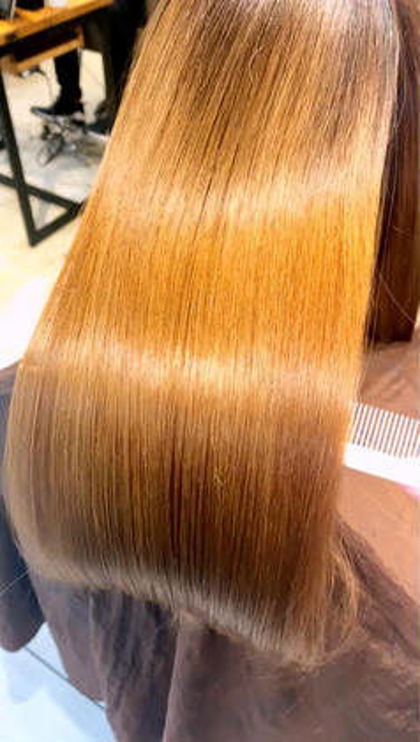 【✨ブリーチ毛/ダメージ毛のための縮毛矯正で人生最高の髪を✨】低ダメージ縮毛矯正&髪質改善酸熱トリートメント