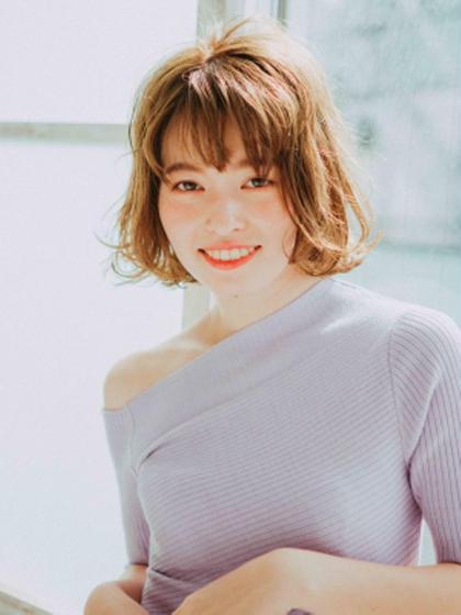【注目サロン✨✨】カット+イルミナカラー超え透明感カラ-+OGTR¥15000→¥10600