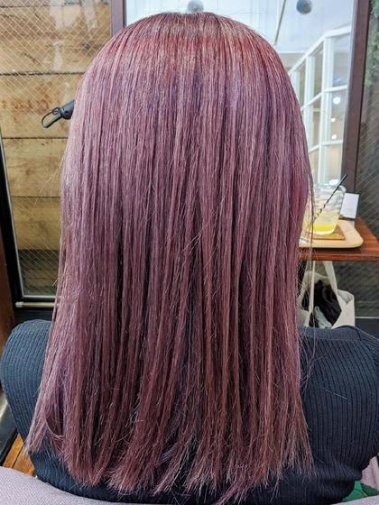 ブリーチ毛にかけれる髪質改善縮毛矯正、ストレートパーマ