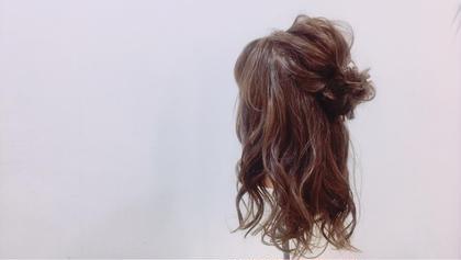 《お出かけ前にツヤ髪に★》Aujua再生トリートメント×ヘアアレンジ