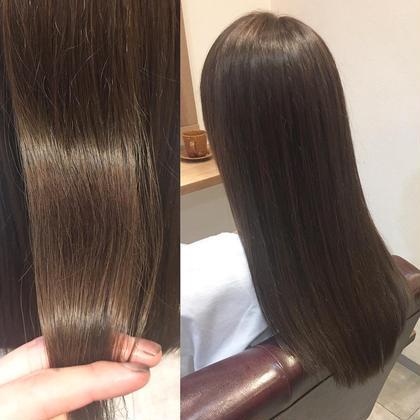 ▶︎▶︎キラキラツヤツヤ髪質改善メニュー✨高級薬剤使用✨縮毛矯正&最高級FLOWDIA TR+全体カット✨