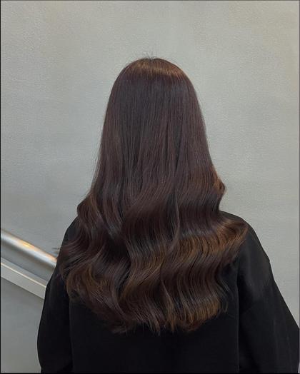 アディクシー艶カラー+内部補修ケア+選べる髪質改善シャンプー