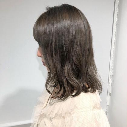 ❤️大人気❤️前髪カット➕透明感ヘアカラー➕トリートメント➕炭酸泉