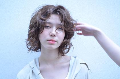 パーマ ミディアム curly hair ❤︎