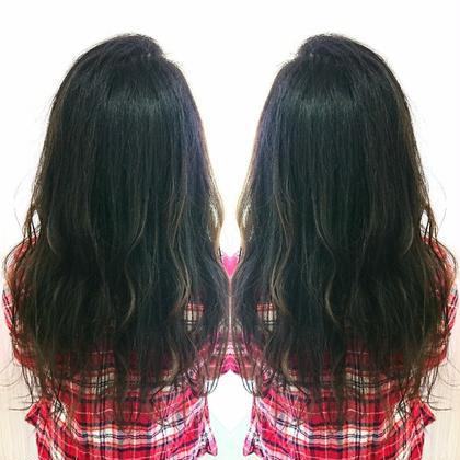 小田太基のセミロングのヘアスタイル