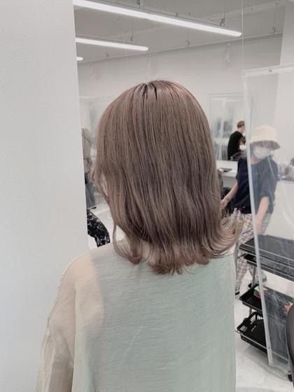 【曇りの日限定クーポン】☁髪色変えて気分は晴れ☀️ワンカラー+高品質トリートメント+💤疲れが吹っ飛ぶ極上ヘッドスパ💤
