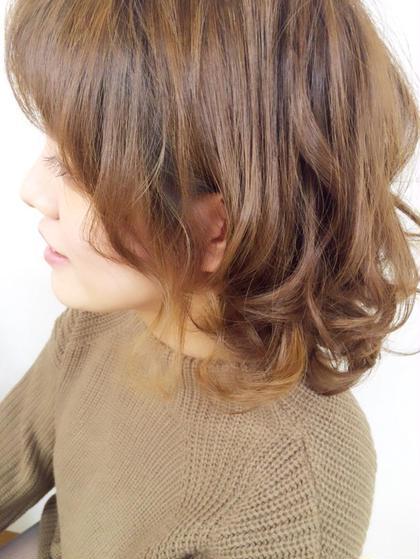 秋冬のトレンド  ヘーゼルカラー((*´∀`*)) シナモンカラー((*´∀`*)) おすすめです♡ HairWork's r.Pixy所属・アールピクシーのスタイル