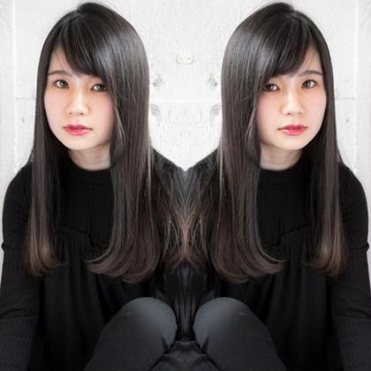 ❤️クセをしっかり伸ばす縮毛矯正&艶カラー(リタッチ)&似合わせカット❤️