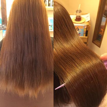 ✨髪質改善✨NEWメニュー【水曜日限定】小顔カット+イルミナカラー+jouerTR+キラ髪トリートメント