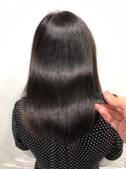 劇的変化髪質改善うる艶極上ストレートパーマ