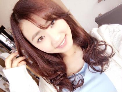 かわいいピンク系カラー☆ 巻き髪ふんわりスタイルでもっと女の子っぽく! azure所属・古屋大揮のスタイル