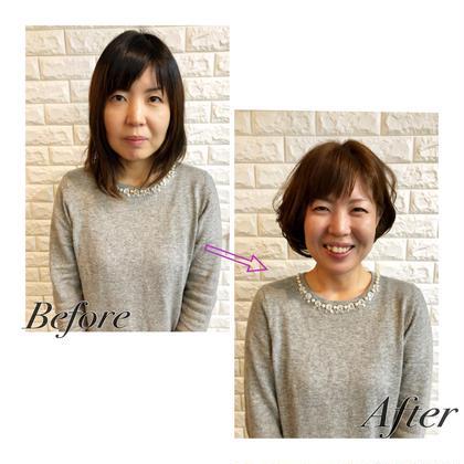 ⭐️12月🎄限定⭐️デザインカット+新✨髪質改善トリートメント