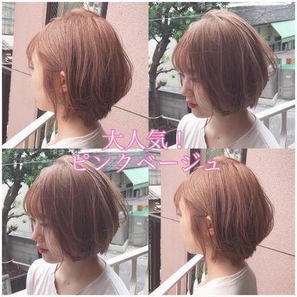 🥇平日限定🥇ロング料金無料!💕ブリーチ+イルミナフルカラー+髪質改善トリートメント