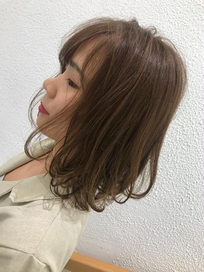 Ash 元住吉店所属の植本琢のヘアカタログ