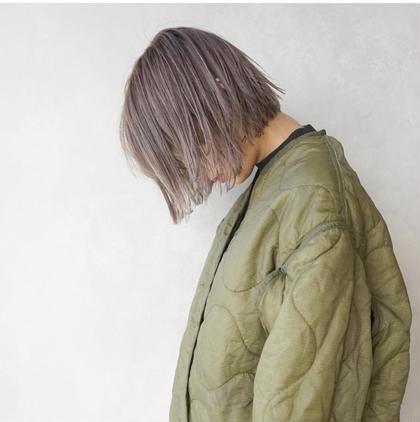 ⭕️1番人気⭕️ダブルカラー&トリートメント &カット(medium)
