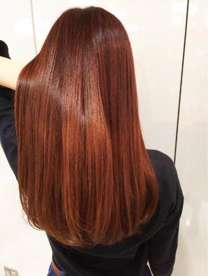 ワンカラー&髪質改善トリートメント❤︎