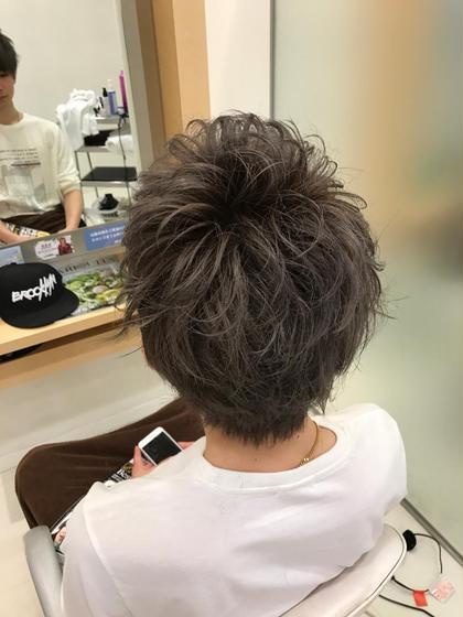 メンズダブルカラー TAYA藤崎店所属・池田識之のスタイル