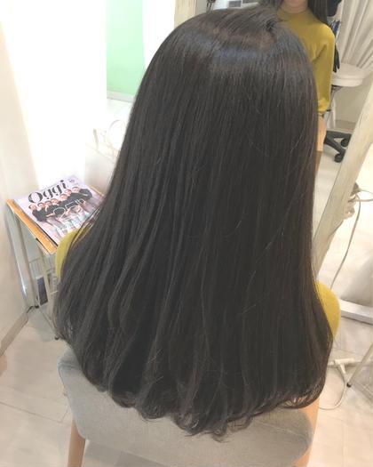 ✨縮毛矯正(アイロンあり)✨無料カットモデル