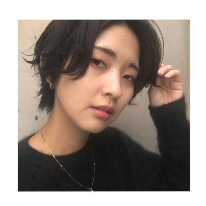 【minimo&平日限定】カット+コスメパーマ+クイックトリートメント