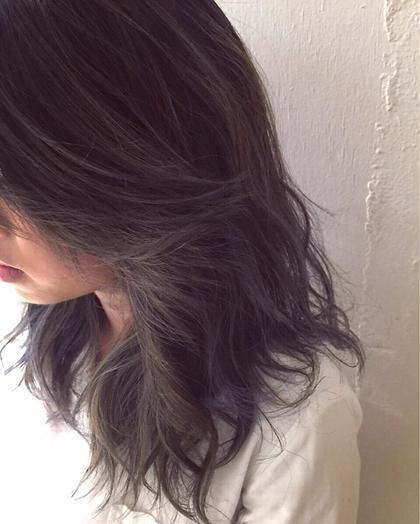 カラー ショート セミロング ミディアム メンズ ロング 外国人風3Dカラー★  夏に向けてハイトーン
