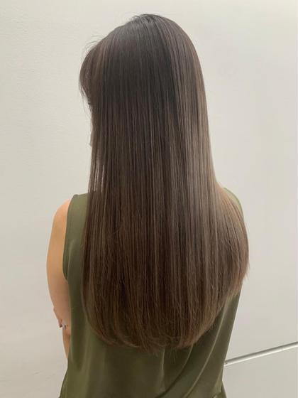 【本日限定】【髪質改善】【透明感カラー】アディクシーカラーorイルミナカラー+髪質改善トリートメント