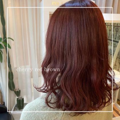 «3月限定»オーガニックカラー+ケアトリートメント🌱🌱+500円で前髪カットOK👌🏻(シャンプースタイリング込)