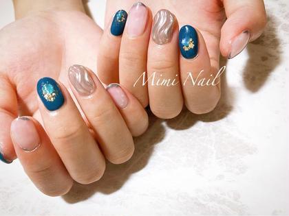 Mimi Nail所属のsaのネイルデザイン
