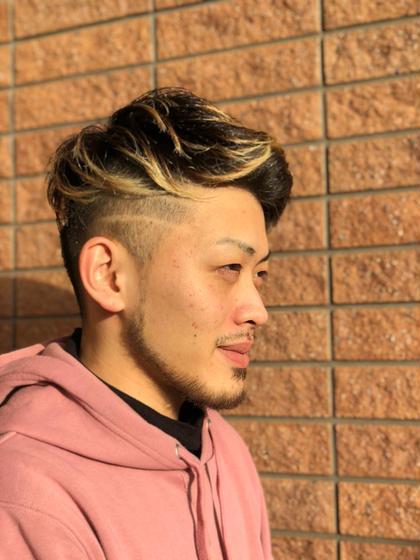 🌟男前カット+頭皮ケアマッサージコース~髪と頭皮をグッドに!