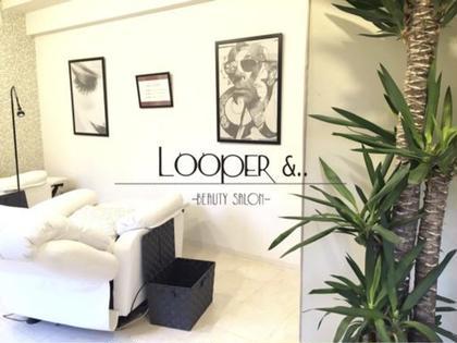 ベットが店内に2台だけのプライベートサロン! 熟練スタッフが、お客様1人1人にあった目元をデザインしていきます! Looper &..所属・looper&..のフォト