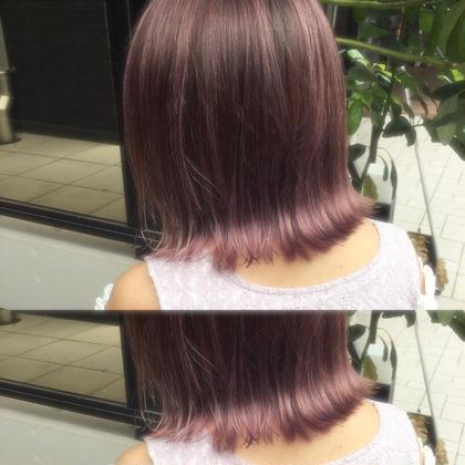 カラー ミディアム pink/lavender