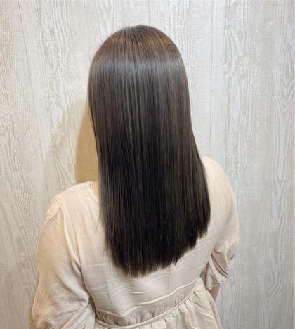 カラー+髪質改善トリートメント
