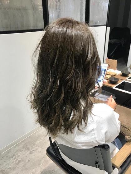 《髪を伸ばしたい!しっかりケアしたい方!》前髪カット&イルミナカラー& oggiottoトリートメント