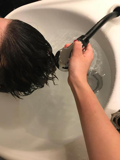 hair circle geep所属・藤野真波のスタイル