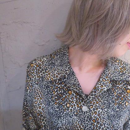 カラー ショート セミロング ヘアアレンジ ミディアム ロング ハイトーン 外国人風ピンクアッシュ