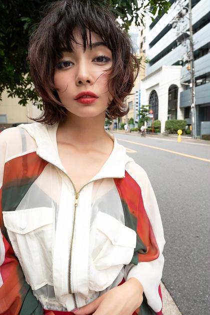 ANGELICAデザインカット+極上トリートメント(60分)¥4900