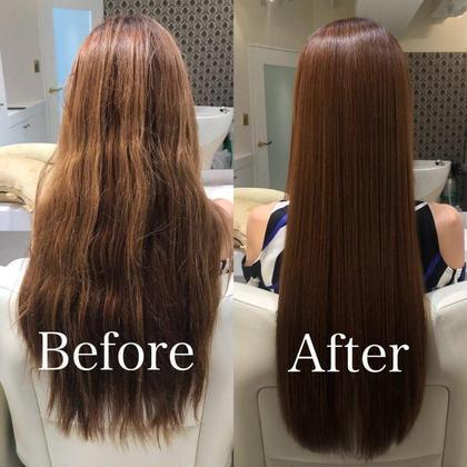 ダメージによるうねり、パサつきがこの通り! 美しい艶髪を手に入れるために髪質改善しましょう ♪ ヘアメイクパッセージ相模大野店所属・大竹彩のフォト