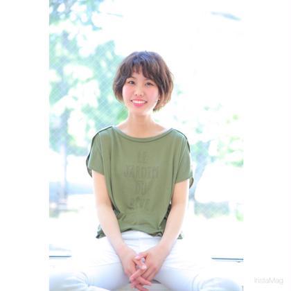 ゆるふわショートボブ✨ CUOLA by KENJE所属・山﨑ユウタのスタイル