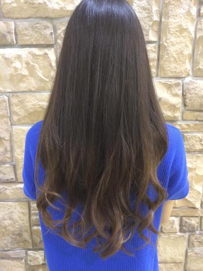 ブリーチを使わずに明るくしたグラデーションカラー( ¨̮ ) Hair&MakeZEST吉祥寺店所属・ZESTカラーリストあぜげのフォト