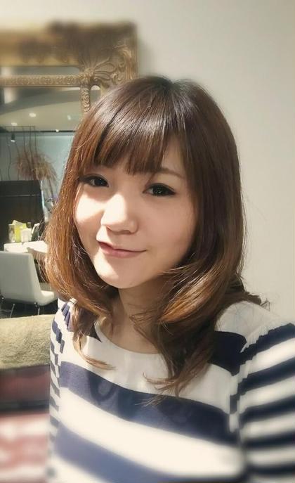 作りすぎないフェミニン hair Glad Room所属・続石(つづきいし)和希子のスタイル