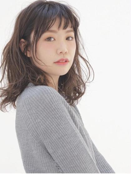 ❣️【5月限定】❣️トレンドカット+艶カラー(根元)