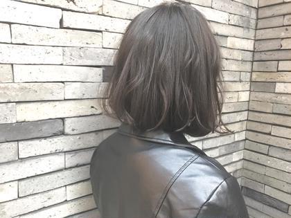 人気No.1✂︎【デザインカット+オーガニックハーブカラー+トリートメント】✂︎