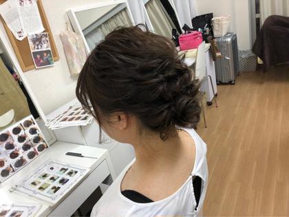 まとめ髪もやります #まとめ髪 #アップスタイル #ヘアアレンジ saibu所属・辻井隆太のスタイル