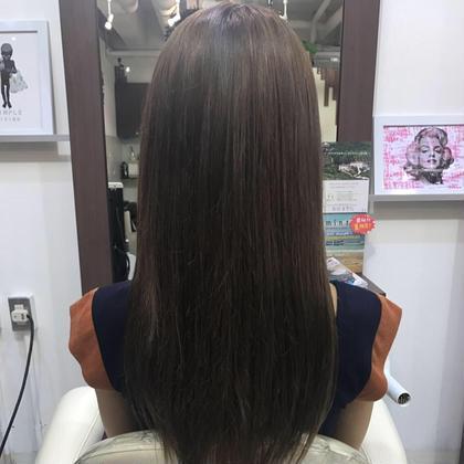 After アッシュベージュ bauhaus hair所属・小沼優太のスタイル