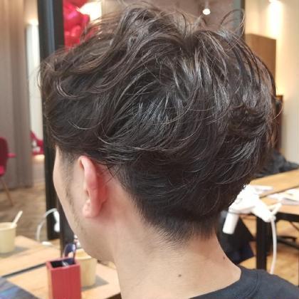 【メンズ限定】カット+眉カット+頭皮マッサージ5分