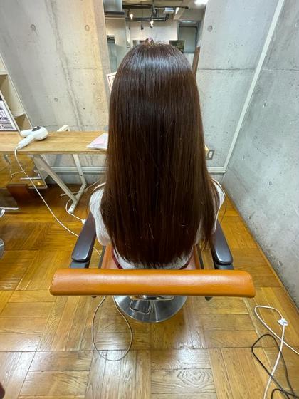【髪質改善✨】カラー+N.ケラリファイトリートメント