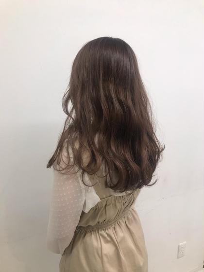 ❤️🌟当日限定🌟❤️前髪カット+透明感カラー+トリートメント