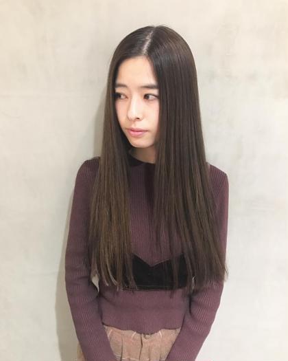 ✂︎ 【初回】ハニーストレート+トリートメント