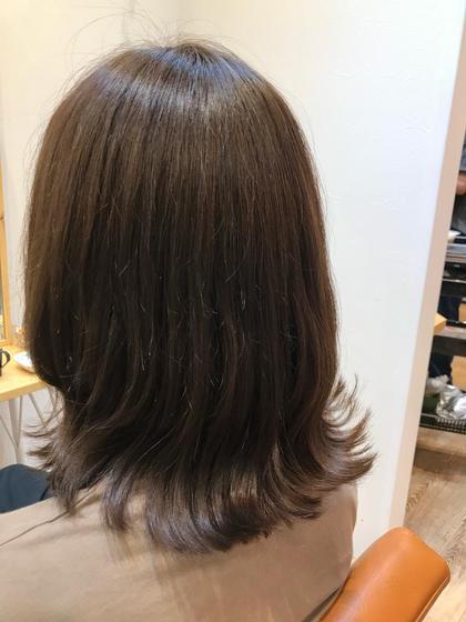 【白髪が気になる方必見】白髪染めリタッチカラー+カット