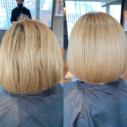✨ダメージに悩む貴方へ✨髪質改善+栄養トリートメント